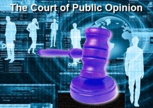court of public opinion