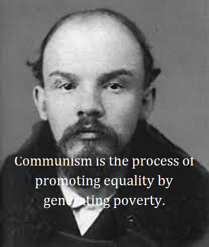 Lenin with words