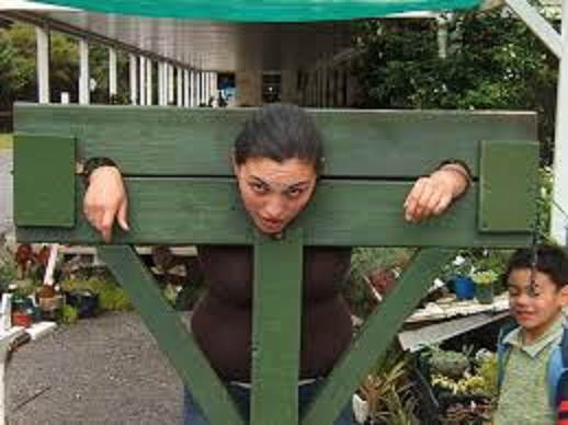 girl in stocks bigger