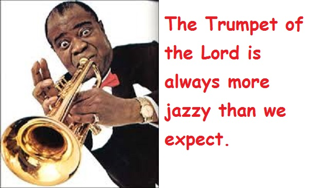Satchmo bigger with words