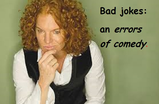 Carrot Top with words