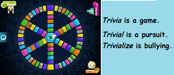 Trivial Pursuit with words