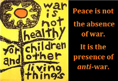 war is not healthy big with words