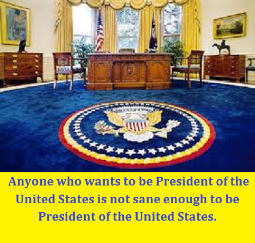 empty oval office with words better
