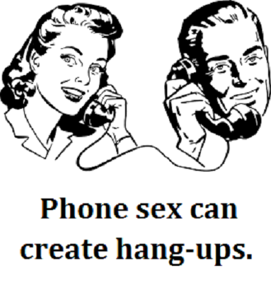 two on the phone with words