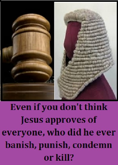 judge gavel and wig with words