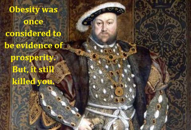 Henry VIII with words