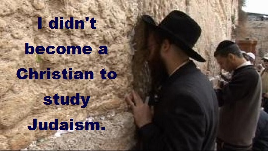 jew at wailing wall with words