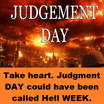 Judgment Day with words