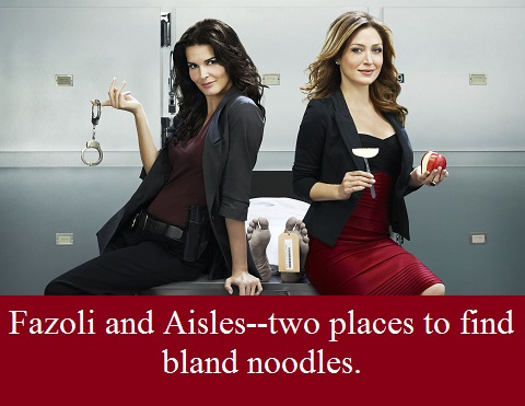 Rizzoli and Isles with words