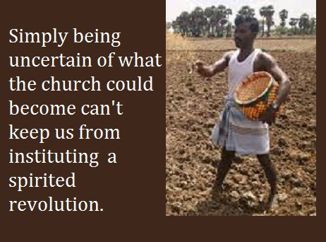 sowing seed with words
