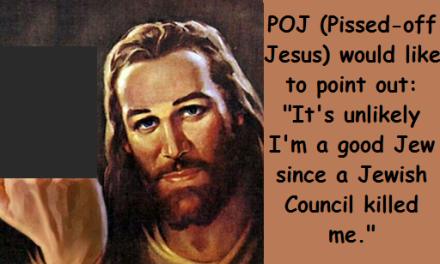 pissed off Jesus blurred with words 2