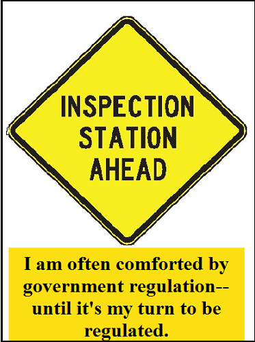 Inspection Station Ahead with words 2