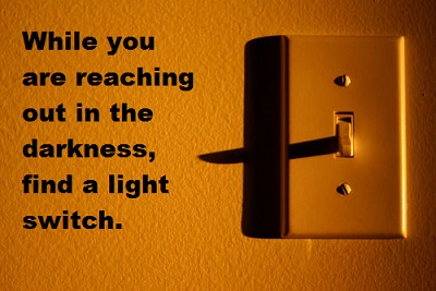 light switch new with words