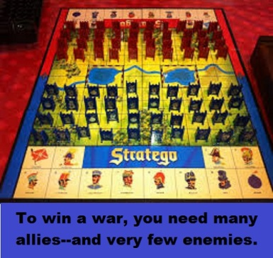 Stratego with words