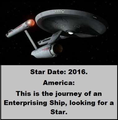 Enterprise with words