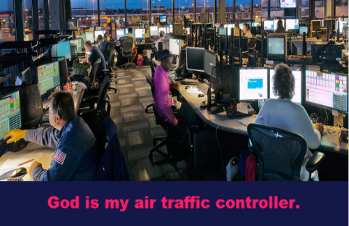 Air traffic with words