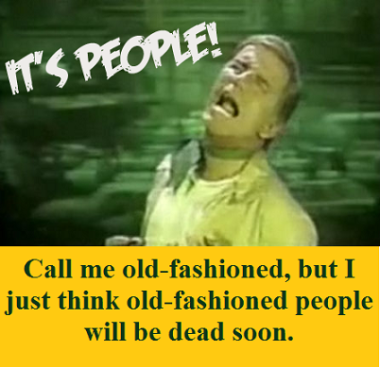 Soylent Green with words