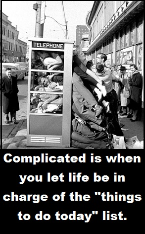 stuffed phone booth with words