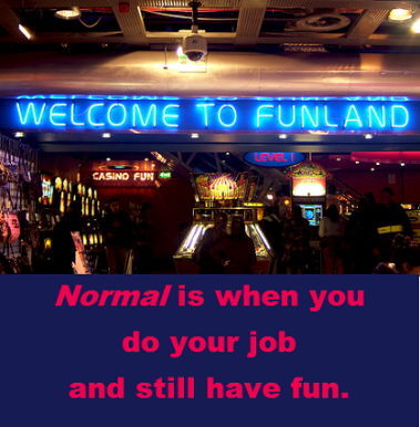 welcome to funland with words