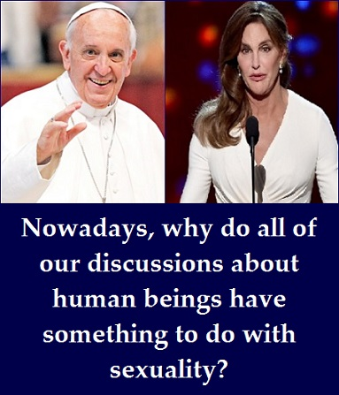 Pope and Caitlyn with words