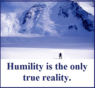 humility with words