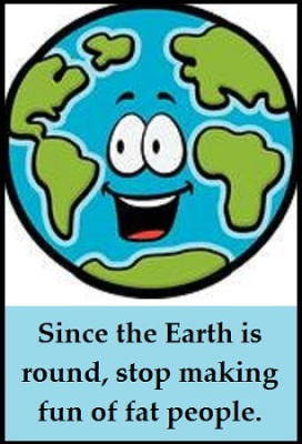 Planet Earth face with words 2