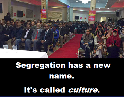 segregation with words