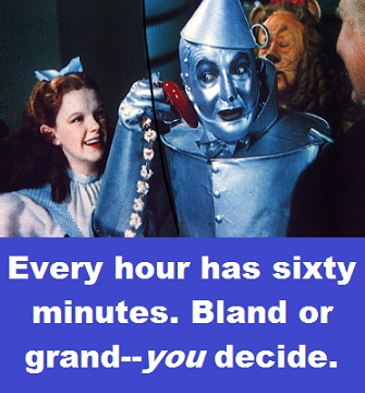 Tin Man with words