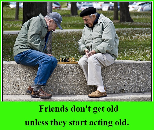 old-friends-with-words