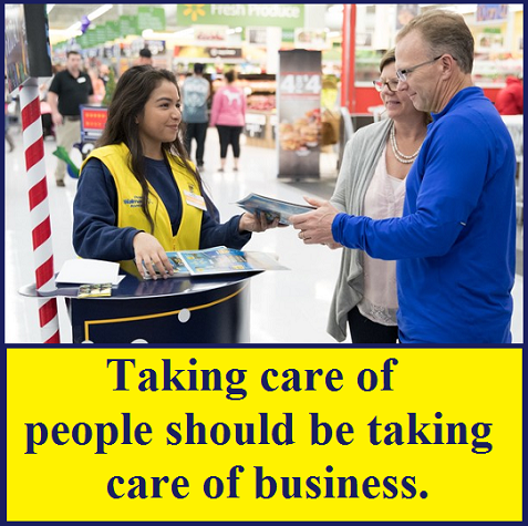 Taking care of people
