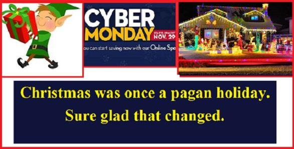 Christmas pagan