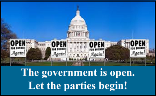 The Government is Open