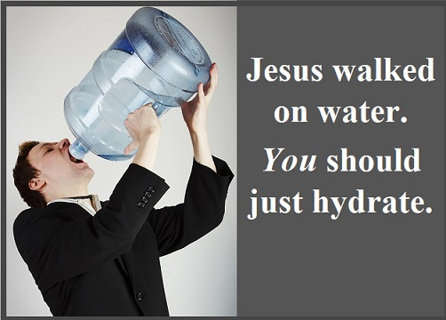 Humans should hydrate