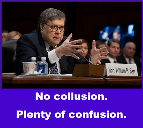 Barr before the Senate
