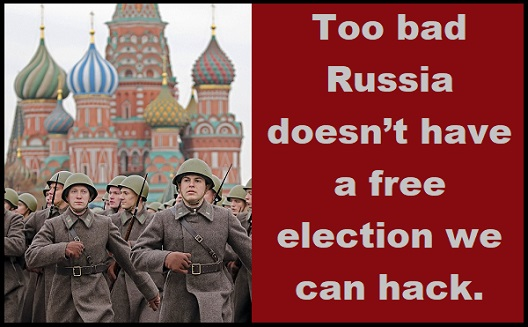 Russians hacking our election